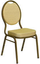 Stacking Banquet Chairs Beige