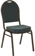 Stacking Banquet Chairs Hunter Green