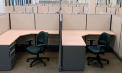 We Buy and Sell Used Office Cubicles