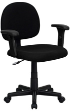 Basic Office Task Chair With Arms